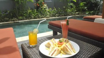 Asoka Homestay Sanur Pool Area